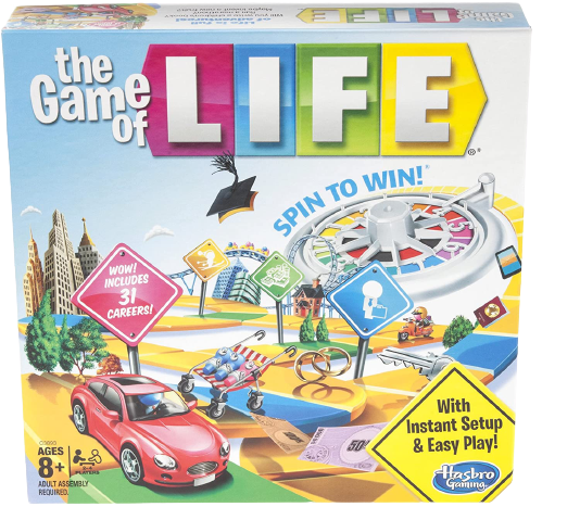 How to play game of life - the box